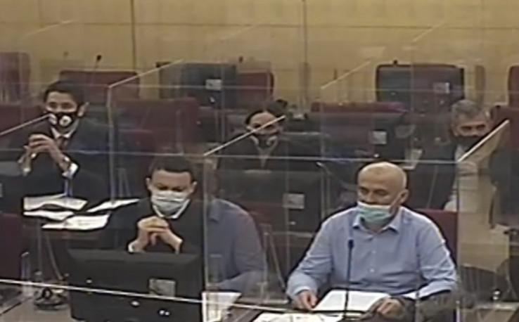 The accused Zijad Mutap and Hasan Dupovac