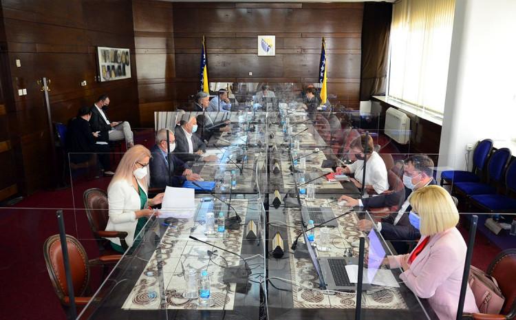 Sjednica Vlade FbIH održana danas u Sarajevu