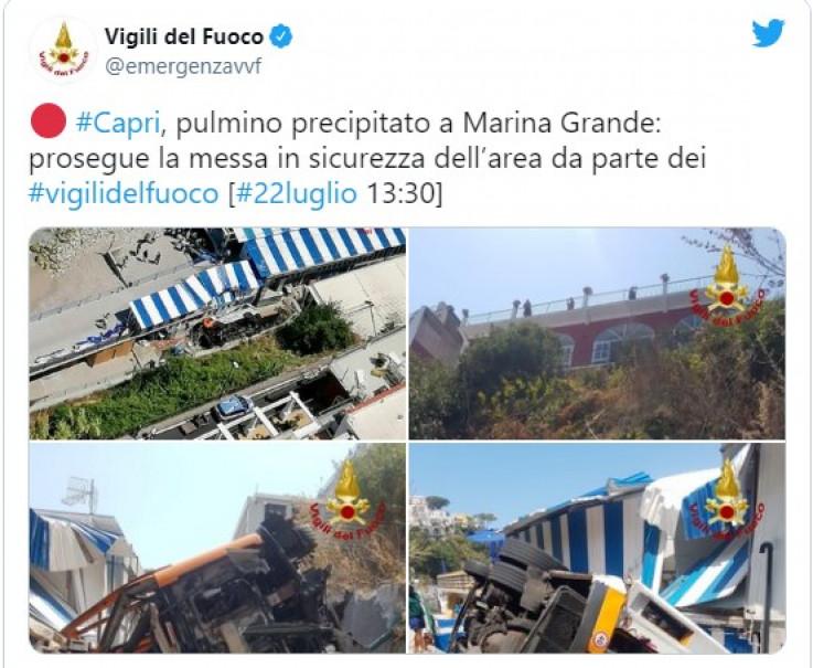 Vatrogasci na Twitteru objavili fotografije nesreće