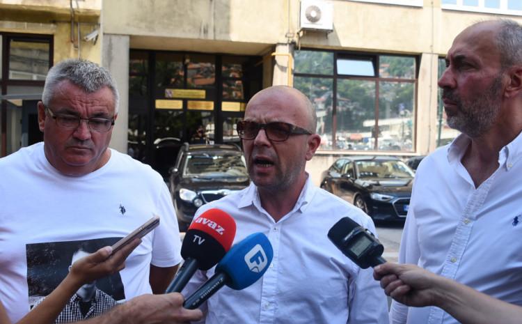 Muriz Memić, Rusmir Karkin and Ifet Feraget