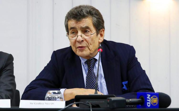 Džefri Najs, bivši tužilac Haškog tribunala