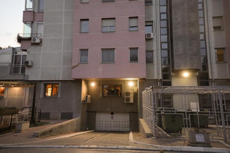 Zgrada u kojoj se dogodio incident