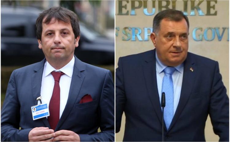 Nebojša Vukanović i Milorad Dodik