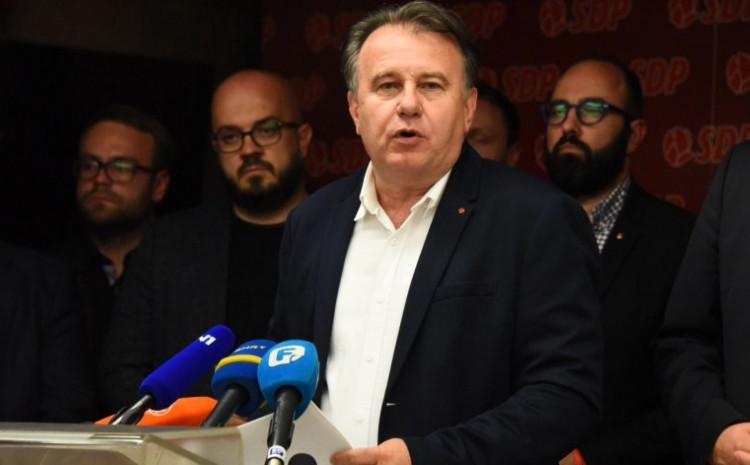 Saopćenje SDP-a BiH
