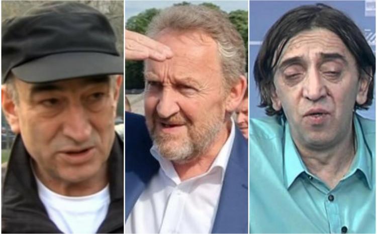 Asim Metiljević, Bakir Izetbegović i Senad Avdić