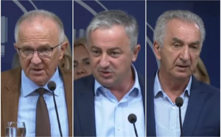Čavić, Borenović i Šarović: Jedinstven stav