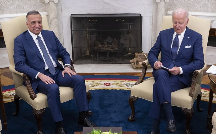 Bajden je ugostio Kadhimija u Ovalnom uredu