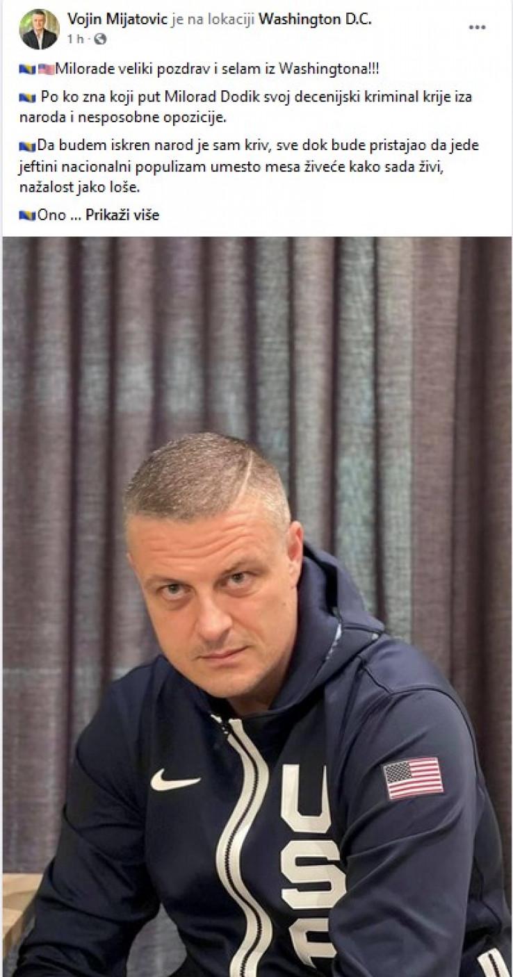 Mijatovićev status: Dao i savjet opoziciji
