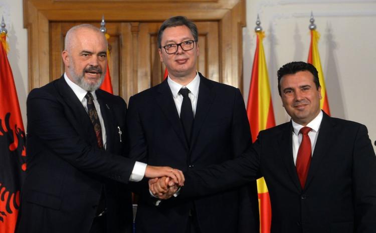Rama, Vučić i Zaev potpisat će tri sporazuma