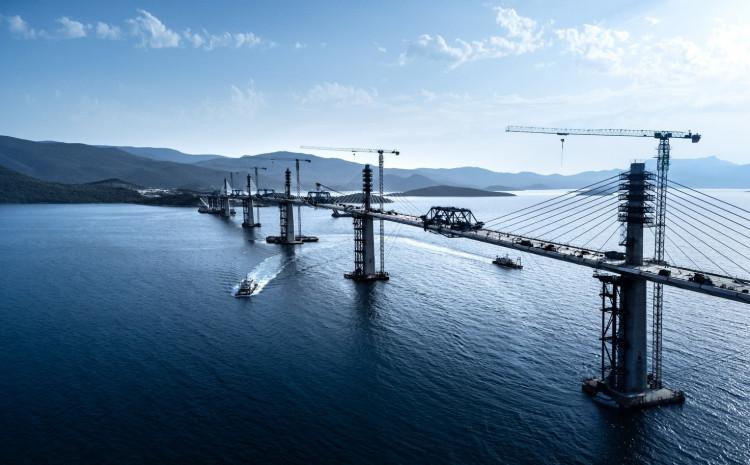 Pelješki most: Otvorenje na proljeće