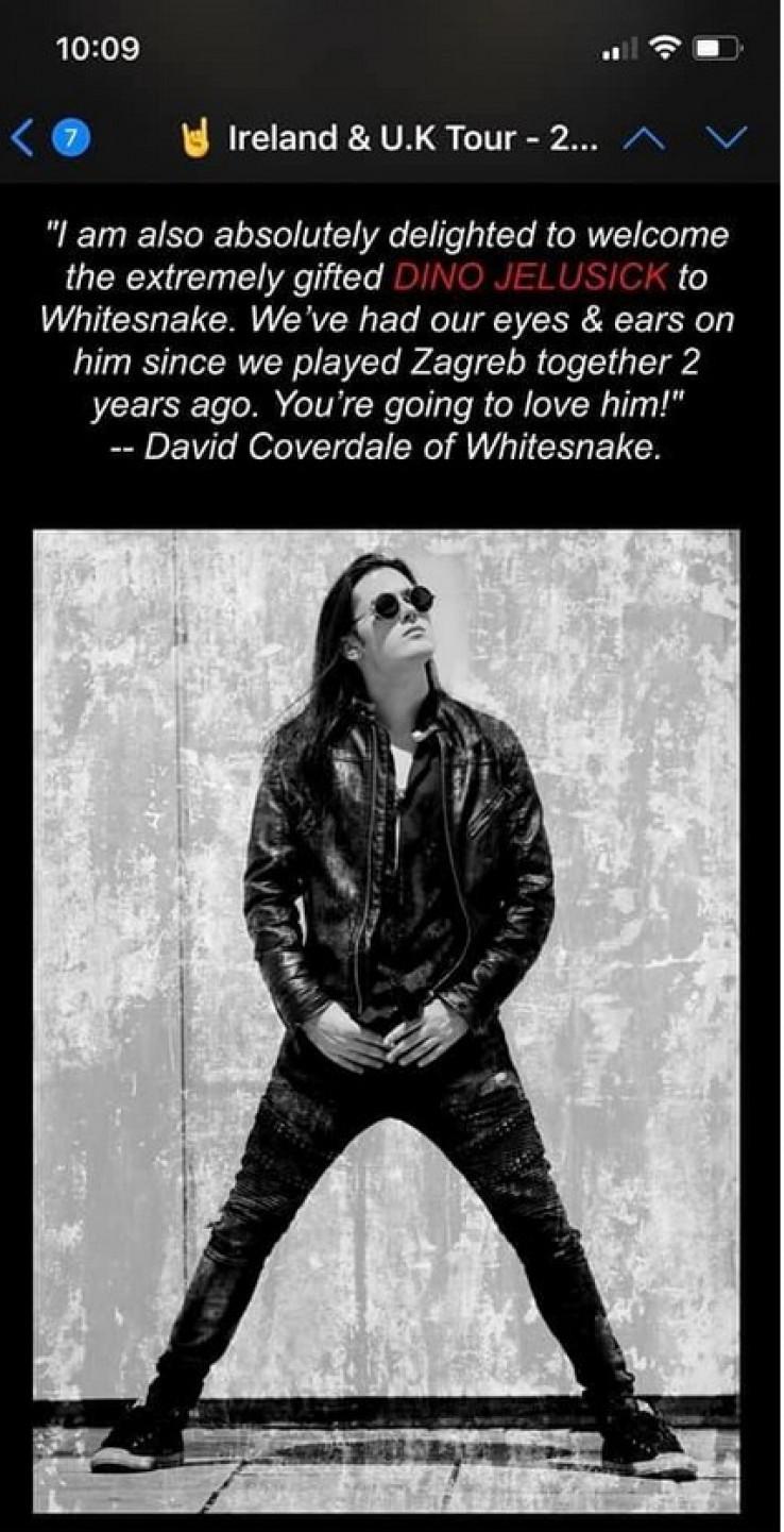 Voljet ćete ga - poručio je fanovima na Facebooku frontmen benda Dejvid Koverdejl