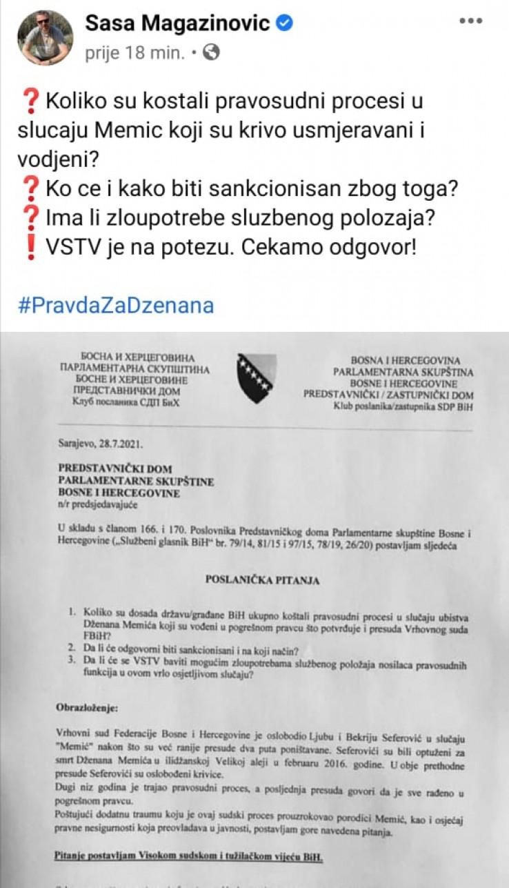 Magazinović: Ko će biti sankcionisan