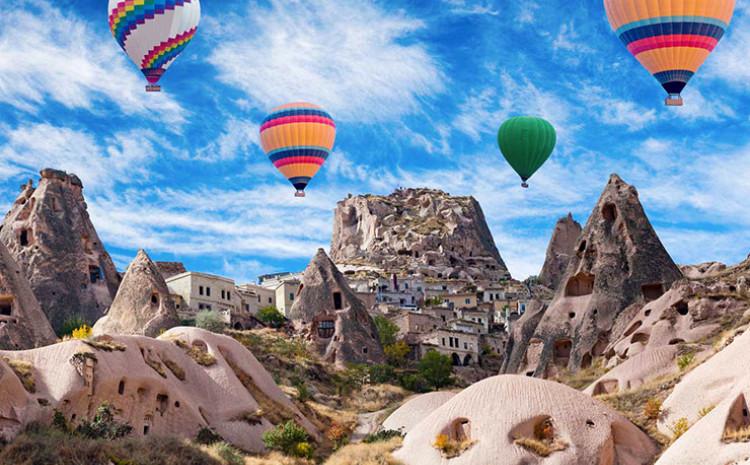 Kapadokija privlači veliki broj turista