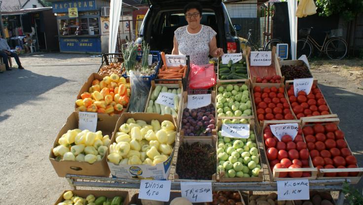 U Bosanskoj Gradišci cijene voća i povrća variraju