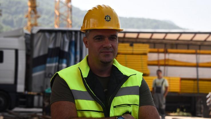 Šef projekta LOT1 Damir Peštelić