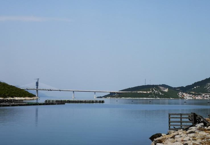 Otvaranje Pelješkog mosta za promet očekuje se naredne godine