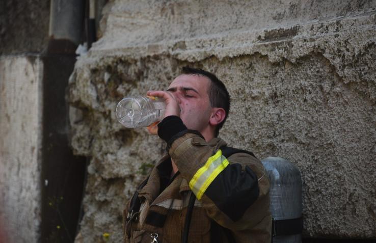 Kratki predah nakon borbe sa vatrenom stihijom: Spriječili širenje vatre