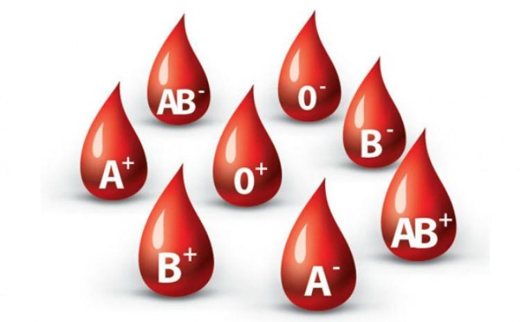 Postoje četiri osnovne vrste krvnih grupa