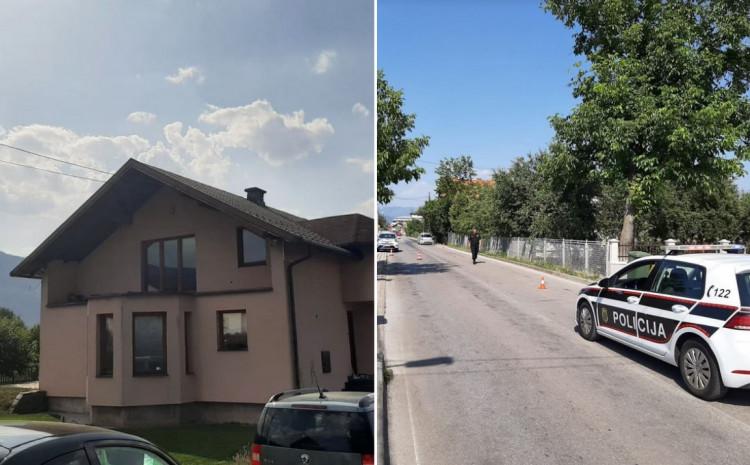 Policija obavlja uviđaj u blizini kuće Muriza Memića