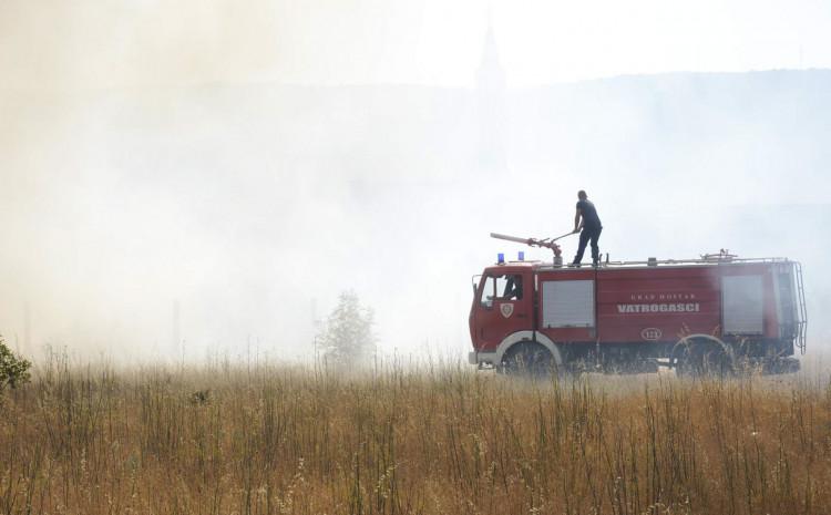 S požarišta: Sve ekipe na terenu