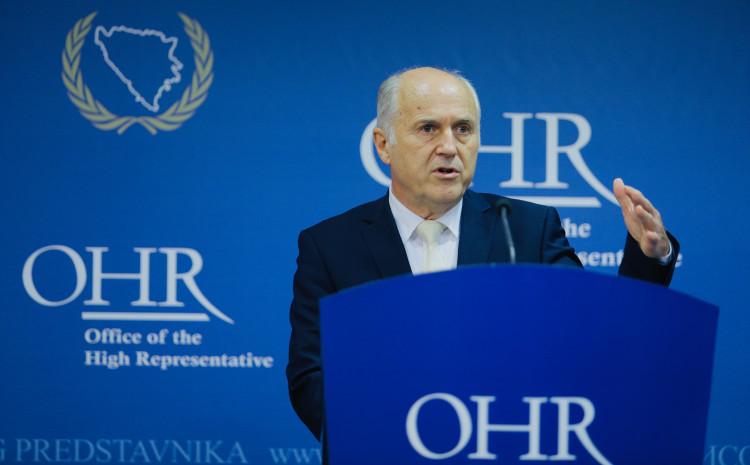 Incko: Moj savjet Šmitu je da se fokusira na vladavinu  prava u BiH