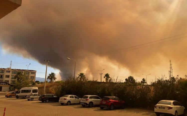 Požari na jugu zemlje
