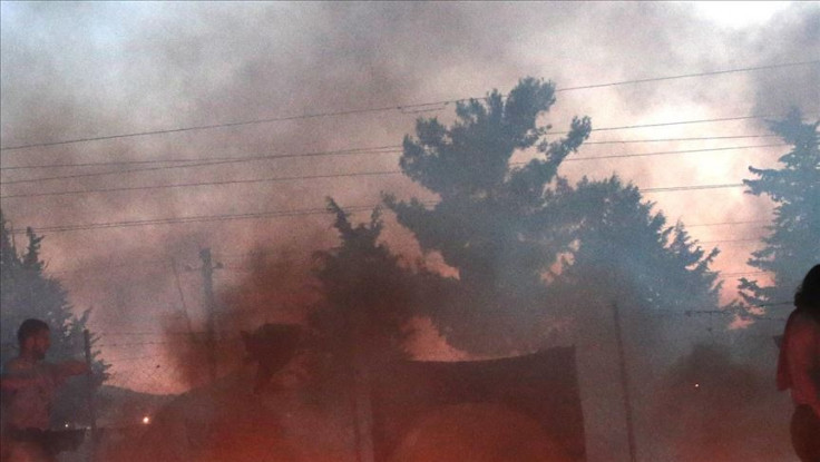 U požarima evakuirano pet sela