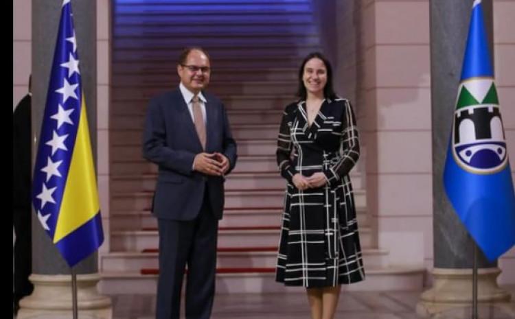 Susret Šmita i gradonačelnice Karić