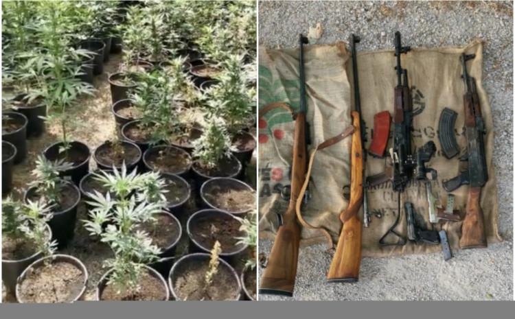 Oduzeta droga i oružje