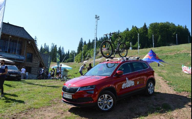 Škoda BiH ponosni sponzor biciklističke utrge MTB Termag Jahorina