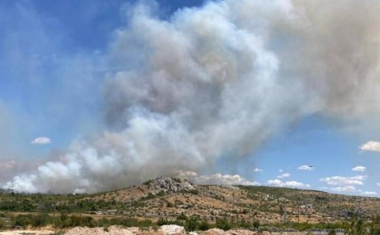 Požar kod Trogira