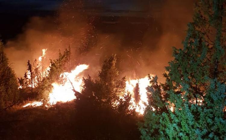 Požar kod Bukovlja i Slavkovića