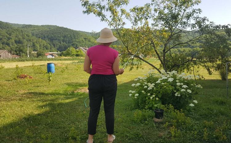 Zabranjeno zalijevanje bašti