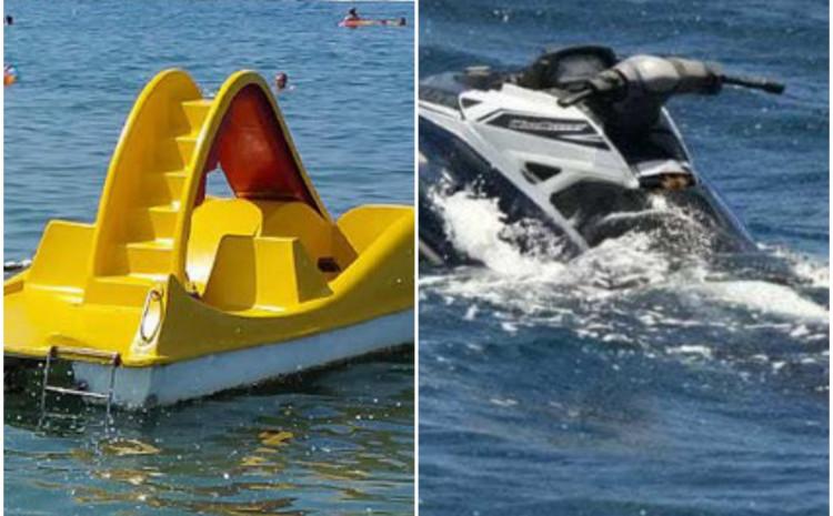 Tokom pomorske nesreće skuter udario u pedalinu