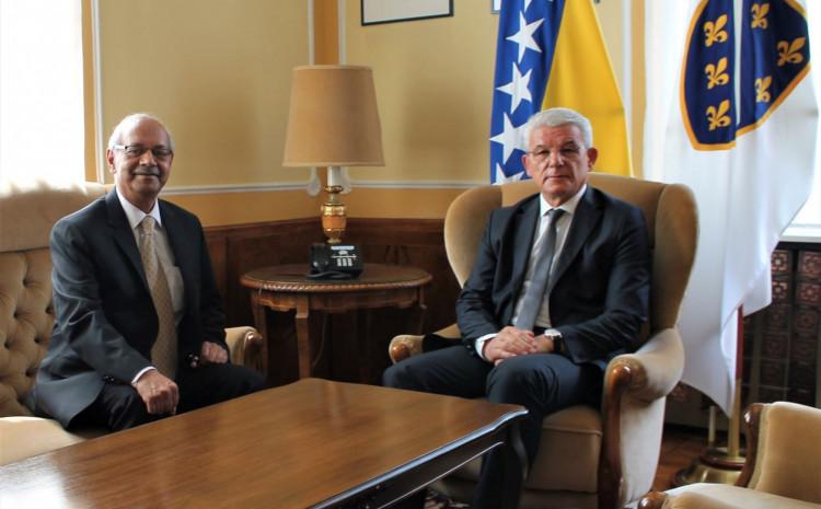 Džaferović i ambasador Pakistana