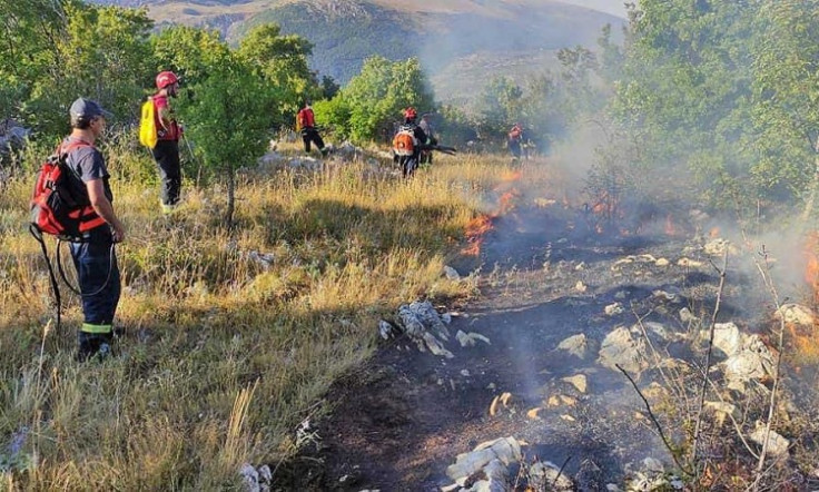 Stanje na požarištima u općini Tomislavgrad jučer je bilo stabilno