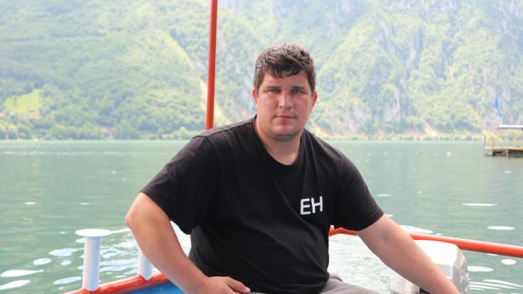 Beganović čamcem vozi do Žepe