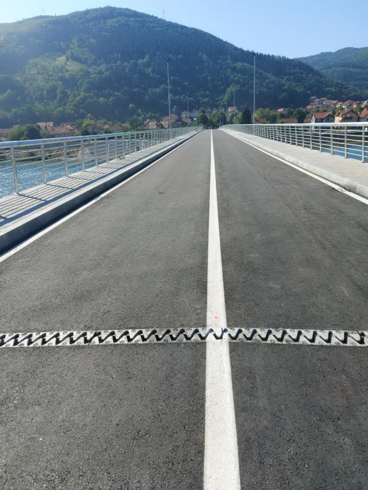 Most će u 12 sati biti pušten u saobraćaj