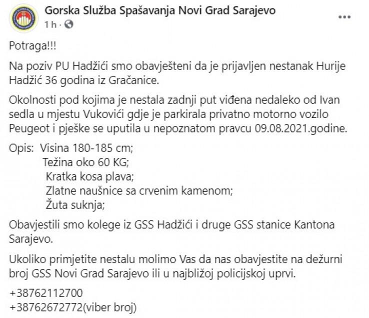 Objava GSS Novi Grad
