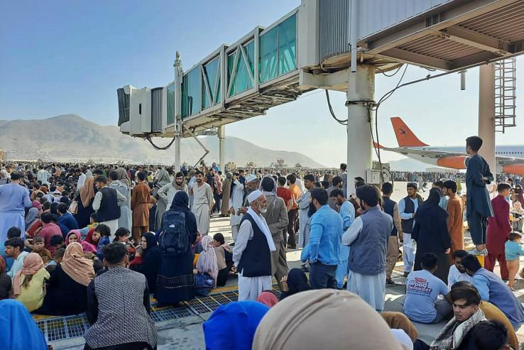 S aerodroma u Kabulu