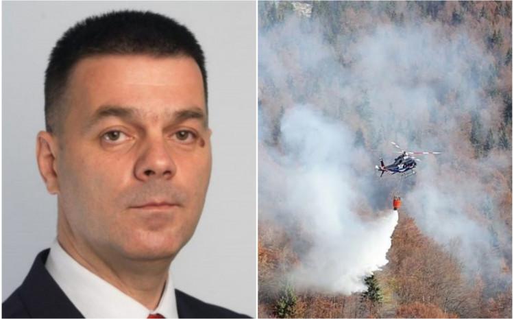 Šabanović: Helikopter je poletio