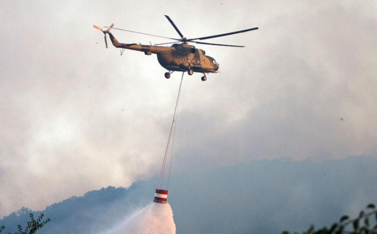 Angažirana dva helikoptera