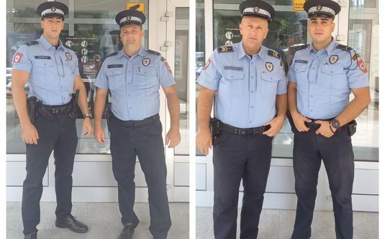 Hrabri policajci spasili dva života
