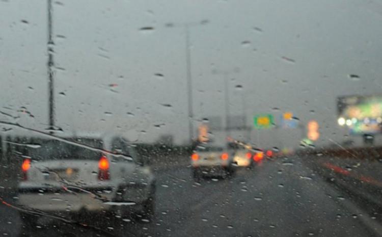 Kiša smanjuje vidljivost