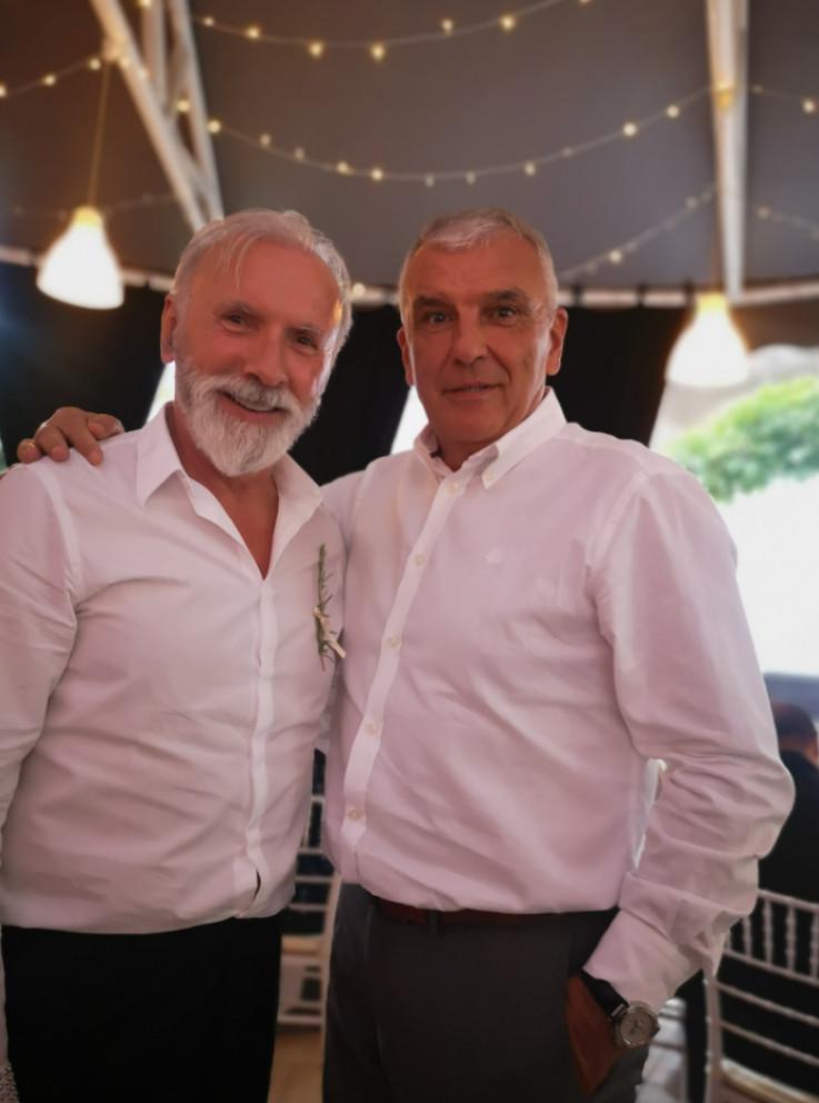 Dino Merlin i Nijaz Skenderagić