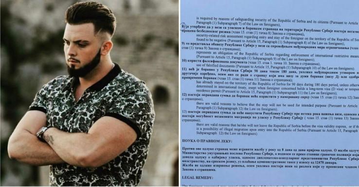 Sadiku Hasanoviću zabranjen ulazak u Srbiju