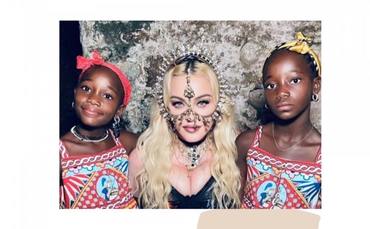 Madona s kćerkama
