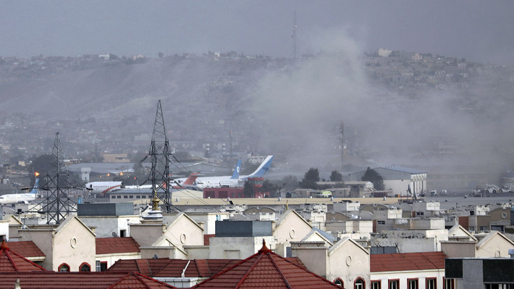 Dim na aerodromu u Kabulu