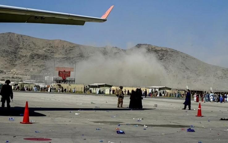 Aerodrom u Kabulu nakon eksplozije
