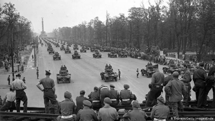 Njemačke trupe se predale